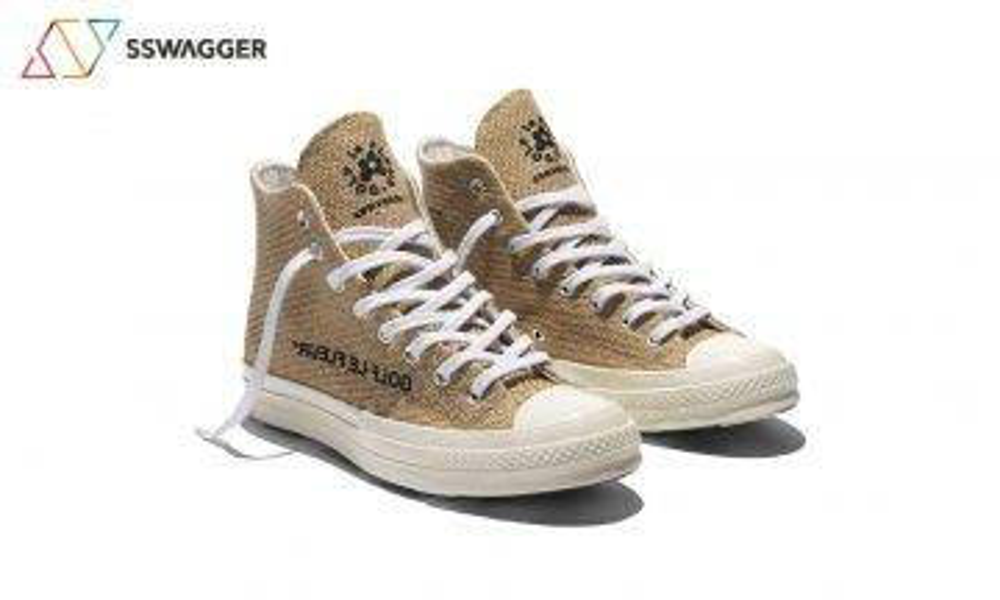 【原始美感】Converse x Tyler, The Creator 粗布麻衣的美學 Chuck 70變草鞋?