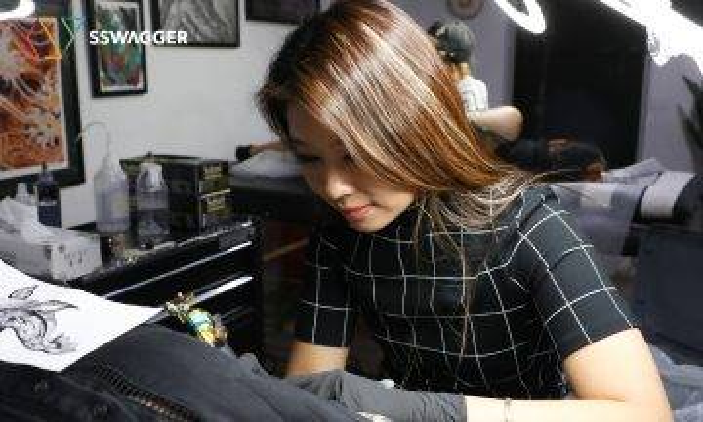 【S系紋身・Doris Chan】普通文員為當紋身師毅然辭職 不想再渾噩過日子!