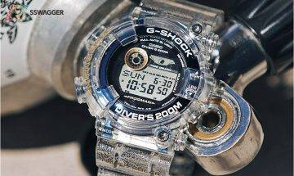 「穿透深海」G-Shock x I.C.E.R.C. 別注聯乘 Frogman 手錶