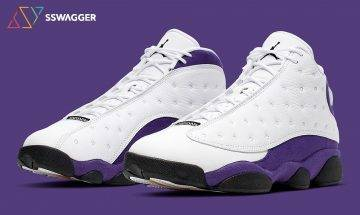 向湖人隊致敬!Air Jordan 13「Lakers Rivals」紀念MJ首個NBA總冠軍