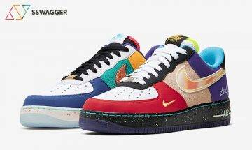 LA棍、棒、籃、足球隊代表色大混拼!Nike Air Force 1 Low「What The LA」10月1日發售