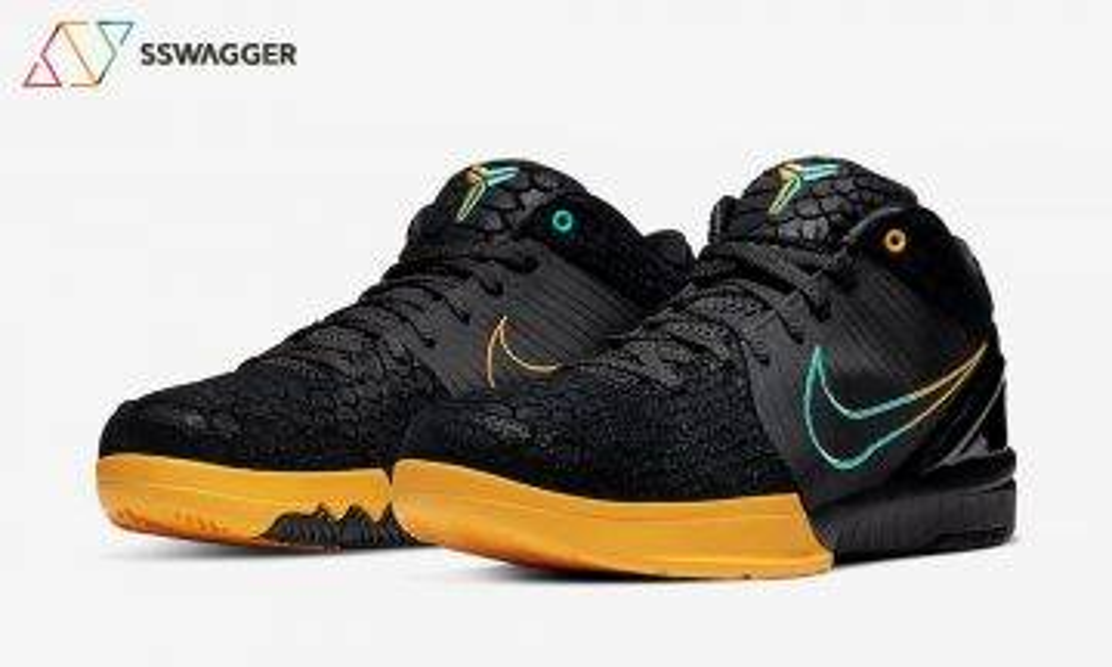 撇走Undefeated聯乘更好看!蛇紋版 Nike Zoom Kobe 4 Protro「Black Snake」鴛鴦swoosh登場!