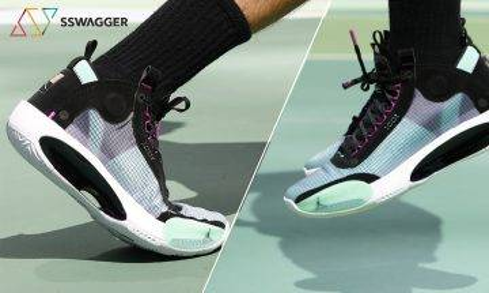 【SSW Air Jordan測試】Air Jordan 34 中底腳感絕佳 完美繼承33代 有力問鼎本年度最佳籃球鞋!