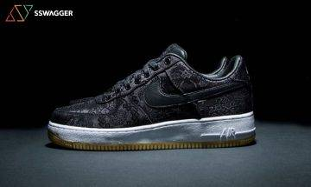 三方聯乘 Fragment x Clot x Nike Air Force 1 「黑絲綢」11月29日登場!