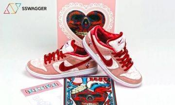慶祝2月14日情人節!StrangeLove Skateboards x Nike SB Dunk Low 粉紅別注版登場!