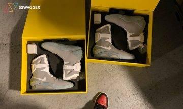 難以置信!有人竟於美國棄置貨倉 意外尋獲6對全新2011年版原裝Nike Mag !