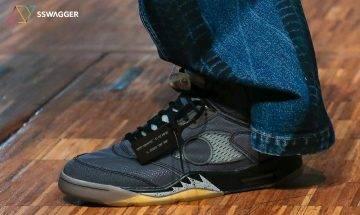 重磅聯乘鞋款 Off-White™ x Air Jordan 5 真身終曝光!巴黎秋冬20時裝週一大亮點!