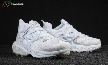 高橋盾改造混血球鞋 Undercover x Nike React Presto 黑白雙魂配潑墨效果!