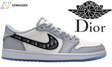 細節圖曝光!Dior xJordan Brand重磅聯乘 率先欣賞4月登場Air Jordan 1 Low