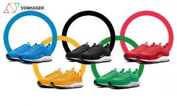 五色齊發!Nike推出奧運五環配色Air Max 97「Olympic Rings」