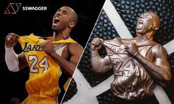 MAMBA FOREVER 紐約著名珠寶設計師Greg Yüna打造18K玫瑰金Kobe Bryant吊墜