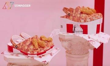 100%回頭率的跨界聯乘!KFC x Crocs 呈獻兩款全新「肯德基炸雞拖鞋」將於春季面世!