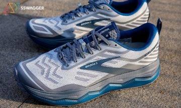 【SSW Brooks測試】Brooks Caldera 4 外觀配色超吸引!全新鞋釘+32mm超厚中底 性價比最高!
