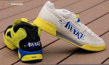 Reebok x Awake NY大玩90年代紐約街頭復古文化! 兩大鞋款Instapump Fury及Workout Low Plus同時登場!