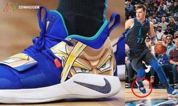 龍珠抗疫!?Luka Doncic著用龍珠球鞋 出自NBA球員御用球鞋定製師!