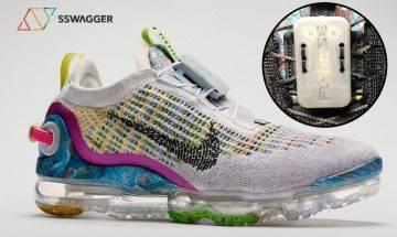 打破「魔咒」!Nike Air VaporMax 2020黑灰新色曝光 一拉綁緊鞋帶