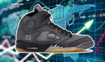 【波鞋價格指數】10對熱門潮鞋 二手市場轉售價升定跌?