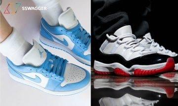 9對本月開售的Air Jordan鞋款 必入大熱低筒版Air Jordan 11「White Bred」!