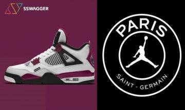 Jordan Brand x Paris Saint-Germain又一聯乘!推出波爾多酒紅色AJ4