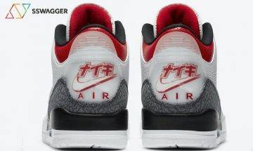 後跟Nike日文字超靚!日本限定Air Jordan 3 SE-T「Fire Red」8月發售