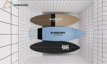 索價$38,000!Burberry推出全新Monogram滑浪板