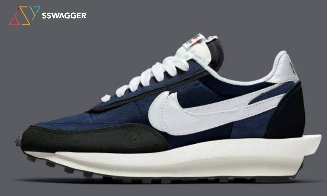 fragment design x Sacai x Nike LDWaffle web