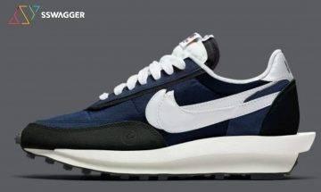 又有藤原浩聯乘推出?黑藍fragment design x Sacai x Nike LDWaffle最新諜照曝光