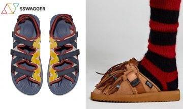 SUICOKE連環聯乘作!SUICOKE x JOHN ELLIOTT機能涼鞋 & SUICOKE x ALANUI意式皮革流蘇涼鞋