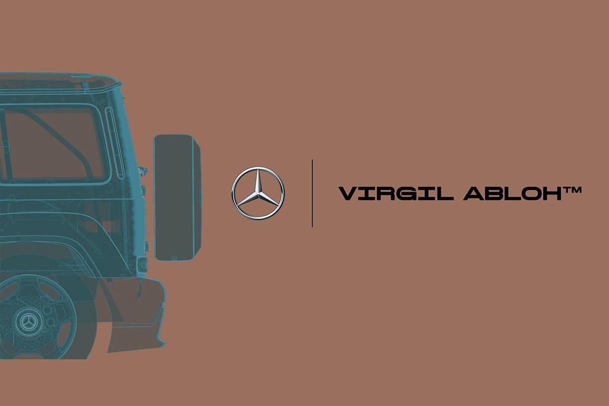Virgil Abloh x Mercedes-Benz 攜手打造聯乘藝術企劃
