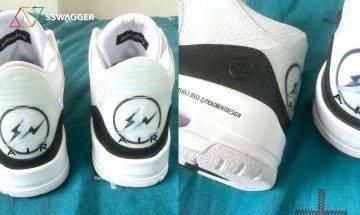 實物極吸引!fragment design x Air Jordan 3聯乘鞋款全新近賞諜照曝光