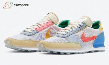 Nike Daybreak Type 鞋款將迎來全新「What The」配色!多種材質、圖案同步注入