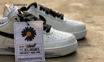 PEACEMINUSONE x Nike Air Force 1 全新白色鞋款諜圖釋出