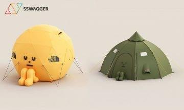 戶外用品擬人法!Sticky Monster Lab全新設計多款「帳篷人」