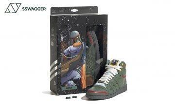 adidas星球大戰再聯乘!推出Boba Fett戰損裝甲Top Ten Hi波鞋