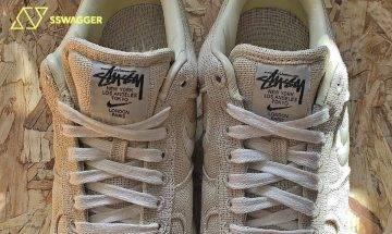 Nike x Stüssy Air Force 1網上曝光!回歸簡約吸引鞋迷