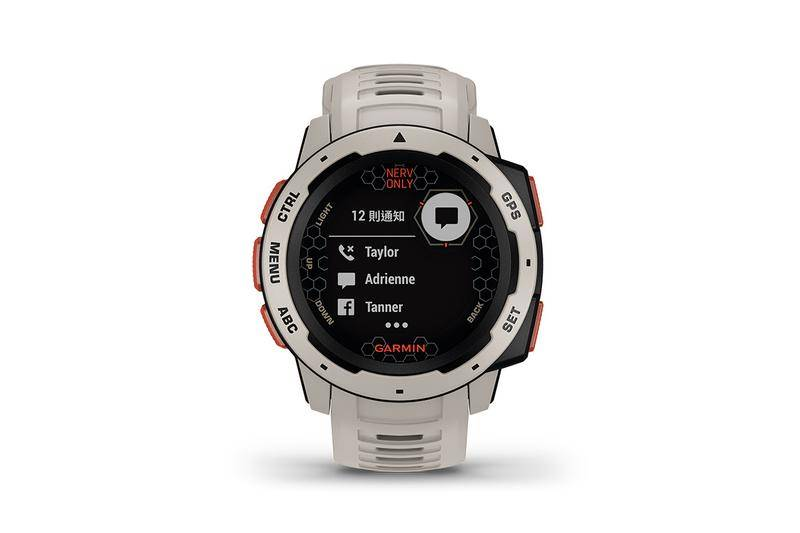 Garmin x《新世紀福音戰士 Evangelion》別注Instinct GPS全天侯智能運動手錶