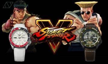 Seiko 5 Sports x《Street Fighter V》推出六款別注手錶!主角元素完全移植