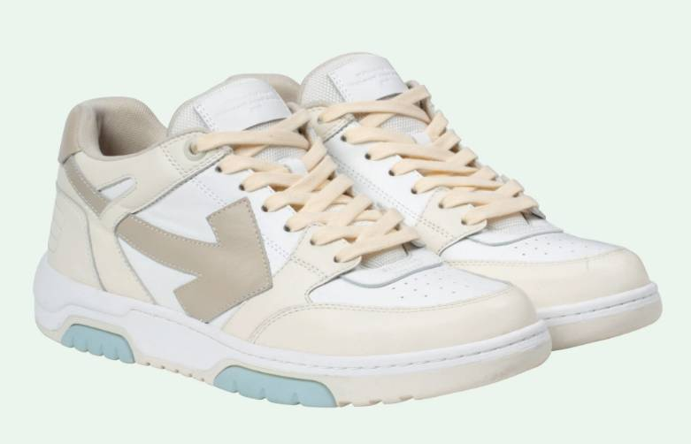 Off.White Out of Office sneakers 0163 white cream
