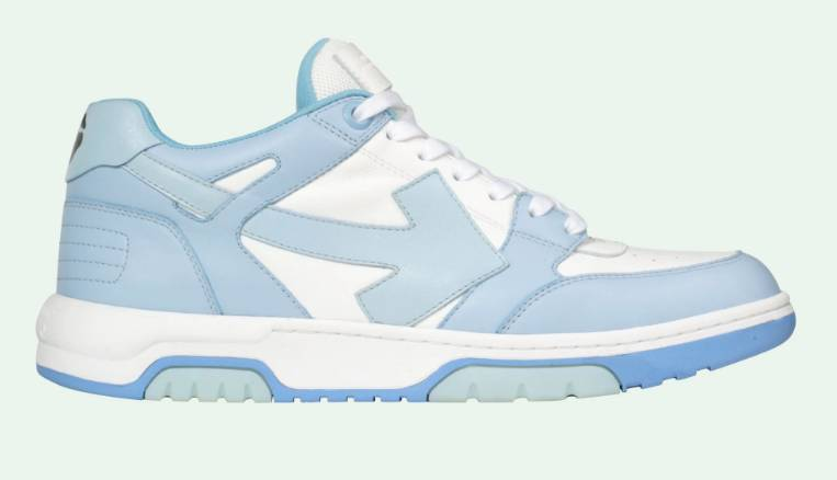 Off.White Out of Office sneakers 140 white light blue