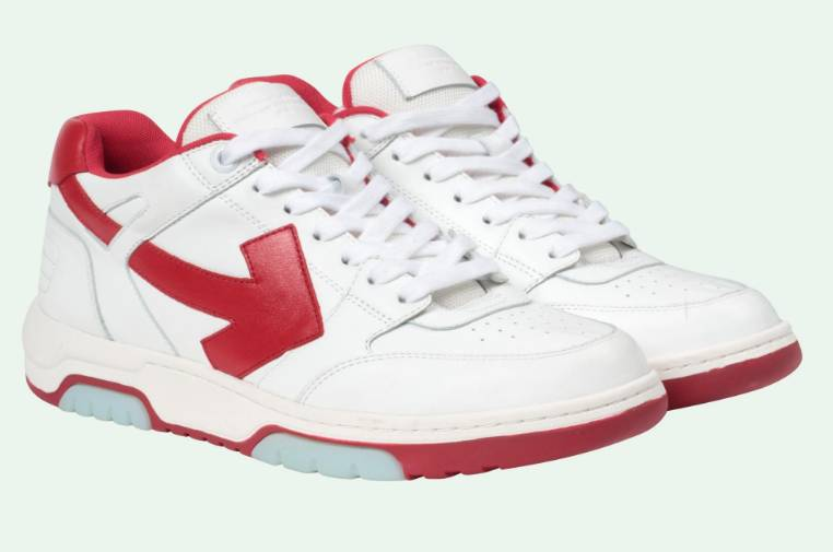 Off.White Out of Office sneakers 125 white red