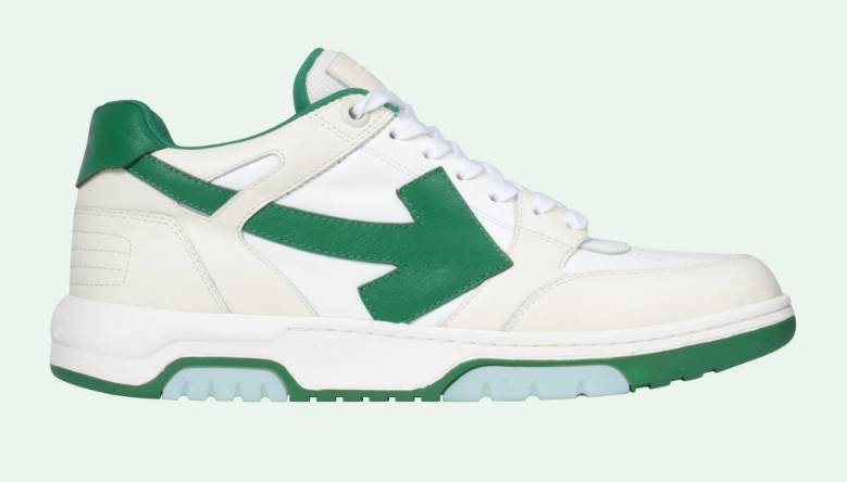 Off.White Out of Office sneakers 0155 white green