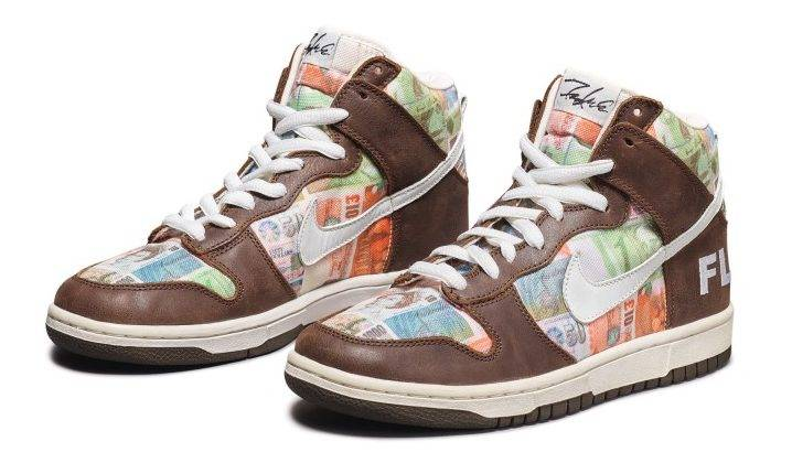 "Nike SB神鞋 Dunk High Pro ""FLOM"" by FUTURA"