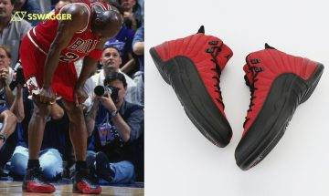 Air Jordan 12「Reverse Flu Game」曝光!反轉傳奇配色