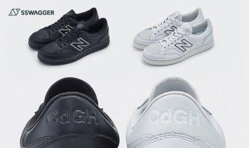 New Balance x COMME des GARÇONS HOMME推出!復古網球鞋別注配色