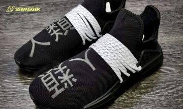 Pharrell Williams x adidas Originals NMD Hu最新配色曝光!