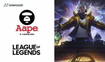 League of Legends x AAPE BY *A BATHING APE推出聯乘「犽宿」遊戲造型!聯乘服飾亦快將登場