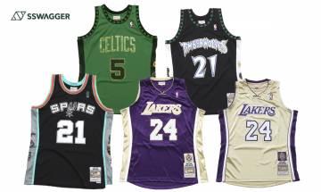 Mitchell & Ness球衣 名人堂3大傳奇系列推出!入手Kobe球衣的機會來了