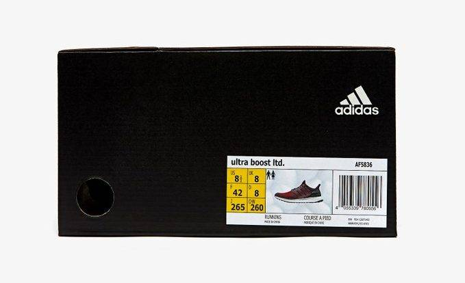 Ultra Boost 1.0 Burgundy Colourway to be restocked on 22nd October