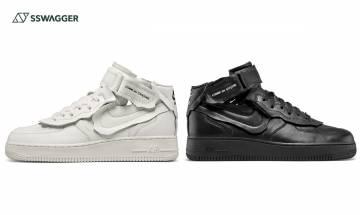 COMME des GARÇONS x Nike Air Force 1 Mid現身DSM!黑白雙色登場