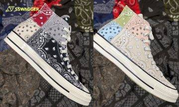 Converse x OFFSPRING全新「Paisley」聯乘鞋款Chuck 70系列快將上架